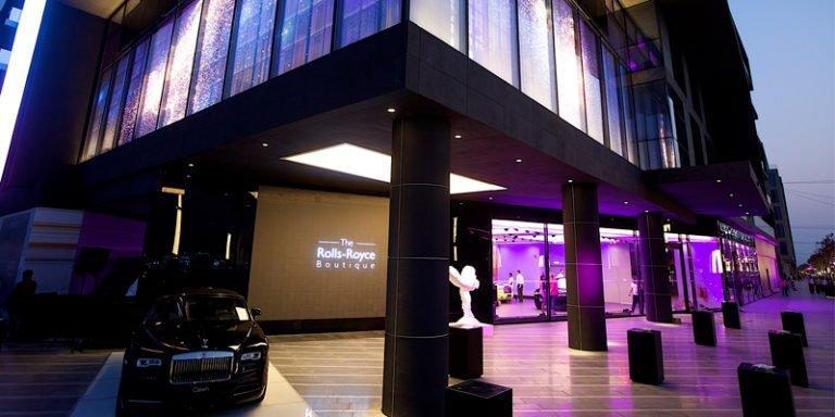 Rolls-Royce Boutique in Dubai
