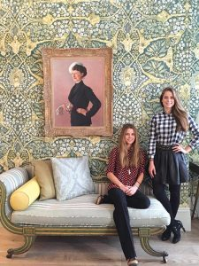 Sisters Irene and Lydia Forte will eventually inherit the family hotel empire.
