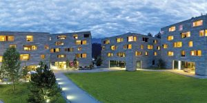 Rockresort in Laax, Switzerland.