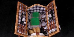 Azurmendi family picnic basket