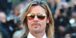 Brad Pitt wearing Sama sunglasses