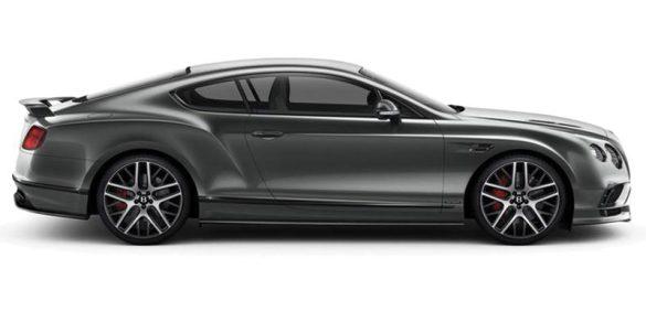 2017 Bentley Continental Supersports.
